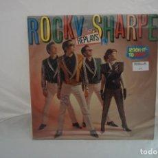 Discos de vinilo: VINILO 12´´ - LP - ROCKY AND THE SHARPE - REPLAYS - ROCK IT TO MARS / CHISWICK. Lote 246553735