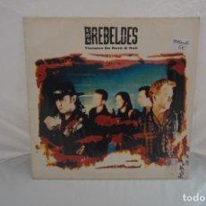 Discos de vinilo: VINILO 12´´ - LP - LOS REBELDES - TIEMPO DE ROCK & ROLL / EPIC. Lote 246554675