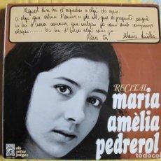 Discos de vinil: 10 PULGADAS - MARIA AMELIA PEDREROL - RECITAL (SPAIN, DISCOS CONCENTRIC 1966). Lote 246563130