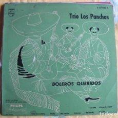 Discos de vinil: 10 PULGADAS - TRIO LOS PANCHOS - BOLEROS QUERIDOS (SPAIN, DISCOS ODEON SIN FECHA). Lote 246563385