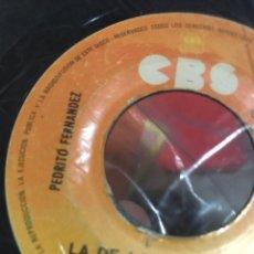 Discos de vinilo: PEDRITO FERNÁNDEZ 1978 CBS MÉXICO. Lote 246568170