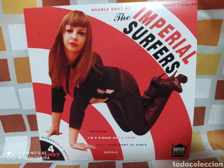 THE IMPERIAL SURFERS–4 SHOT . EP VINILO NUEVO. SURF GARAGE ROCK AND ROLL. (Música - Discos de Vinilo - EPs - Rock & Roll)