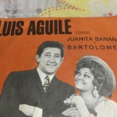 Discos de vinilo: LUIS AGUILE / 1966 GRAMOFENO-ODEON. Lote 246586840