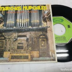 Discos de vinilo: MENDELSSOHN + WAGNER-MARCHAS NUPCIALES SINGLE MOVIE PLAY DE 1971 RF-3639 , BUEN ESTADO. Lote 246597135