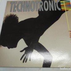 Discos de vinilo: TECHNOTRONIC - PUMP UP THE JAM - LP - MAX 1989 SPAIN REF. LP-385 - BUEN ESTADO. Lote 246598250