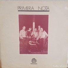 Discos de vinilo: LP / PRIMERA NOTA - PRIMERA NOTA, 1989 CONTIENE HOJA CON LAS LETRAS DE LOS TEMAS. Lote 246599780
