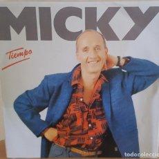 Discos de vinilo: MAXI / MICKY - TIEMPO, 1985. Lote 246600455