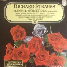 Discos de vinilo: RICHARD STRAUSS - EL CABALLERO DE LA ROSA. Lote 246600520