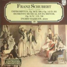 Discos de vinilo: FRANZ SCHUBERT - IMPROMPTUS. Lote 246600645