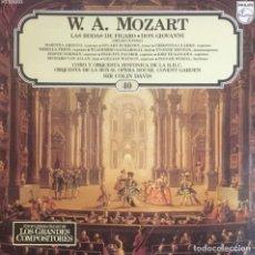 Discos de vinilo: W. A. MOZART - LAS BODAS DE FIGARO. Lote 246600705