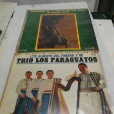 Discos de vinilo: 2 LP SORTILEGIO DE LA FLAUTA DE LOS ANDES EL CONDOR PASA FACIO SANTILLAN Y LOS TRES PARAGUAYOS. Lote 246602560
