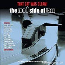 Discos de vinilo: THAT CAT WAS CLEAN! MOD JAZZ [VINILO] LP2 VINILOS. Lote 246602610