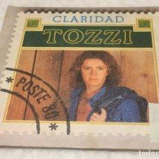 Discos de vinilo: SINGLE UMBERTO TOZZI - CLARIDAD - JAULAS - EPIC EPC8638 -PEDIDOS MINIMO 7€. Lote 246603255