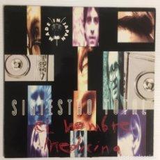 Discos de vinilo: SINIESTRO TOTAL. EL HOMBRE MEDICINA. ARIOLA, 1993. Lote 246608615