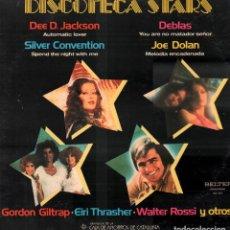 Discos de vinilo: DISCOTECA STARS - DEE D. JACKSON, JOSE DOLAN, DEBLAS... LP BELTER DE 1978 RF-9304. Lote 246610185