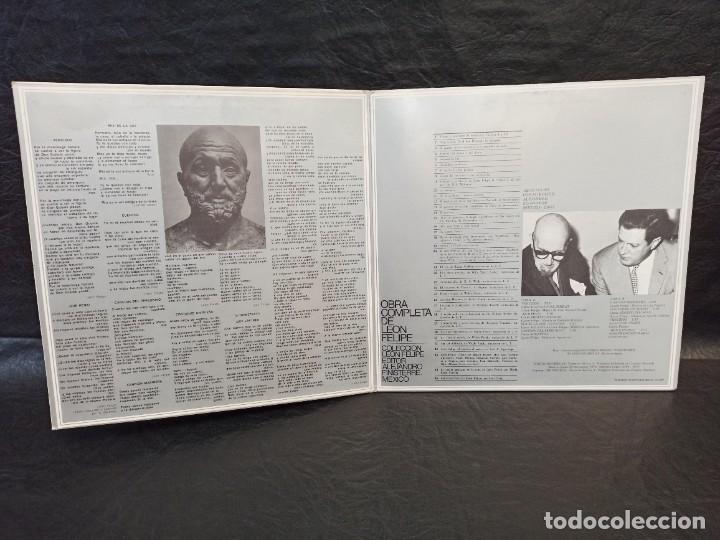 Discos de vinilo: León Felipe y sus interpretes. 2 discos. Vinilos - Foto 3 - 246653890