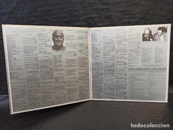 Discos de vinilo: León Felipe y sus interpretes. 2 discos. Vinilos - Foto 4 - 246653890