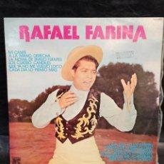 Discos de vinilo: RAFAEL FARINA. VINILOS. Lote 246657865