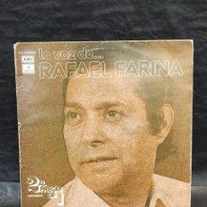 Discos de vinilo: LA VOZ DE RAFAEL FARINA. 2 DISCOS. VINILOS. Lote 246658330