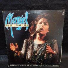 Discos de vinilo: MASSIEL EN DES CONCIERTO. 2 DISCOS. VINILOS. Lote 246662430