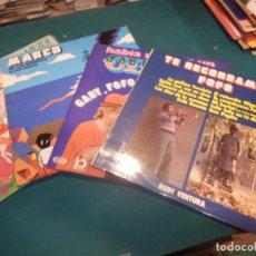 Discos de vinilo: HEIDI + MARCO + GABI, FOFO Y MILIKI CON FOFITO + REGALIZ, REBELIÓN PAJAROS - LOTE 5 LP'S - VER FOTOS. Lote 246693220