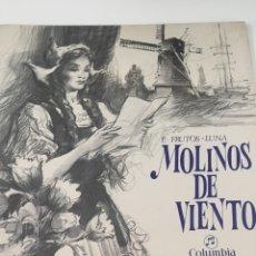 Discos de vinilo: DISCO MOLINOS DE VIENTO. Lote 246697405