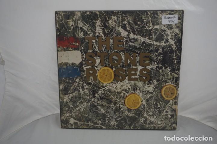 VINILO 12´´ - LP - THE STONE ROSES / SILVERTONE RECORDS - BUEN ESTADO (Música - Discos de Vinilo - Maxi Singles - Otros estilos)