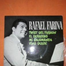 Discos de vinilo: RAFAEL FARINA. EL TWIST DEL FARAON. ODEON 1962. Lote 246728995