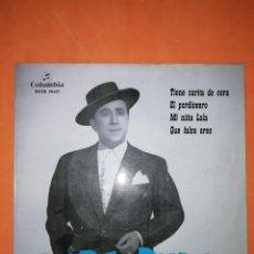 Discos de vinilo: PEPE PINTO. TIENE CARITA DE CERA. COLUMBIA 1962. Lote 246731490