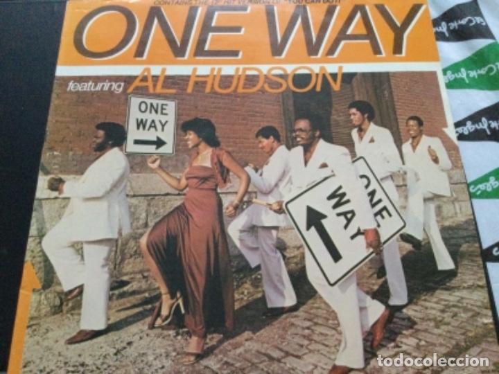 ONE WAY FEATURING AL HUDSON (Música - Discos de Vinilo - EPs - Disco y Dance)