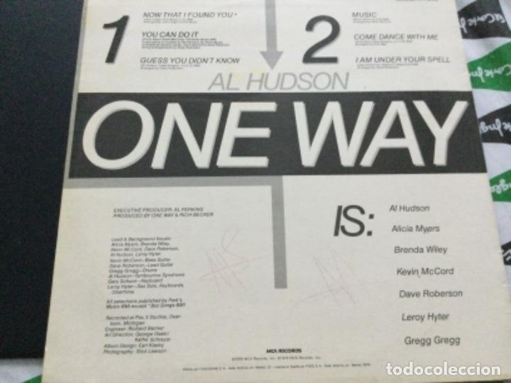 Discos de vinilo: One Way featuring Al Hudson - Foto 2 - 246732055