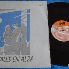 "Discos de vinilo: VALORES EN ALZA SPAIN 12"" MAXI MINI LP 1985 ELECTRONIC SYNTH POP ROCK EXPERIMENTAL NEW WAVE RARO VER. Lote 246739205"
