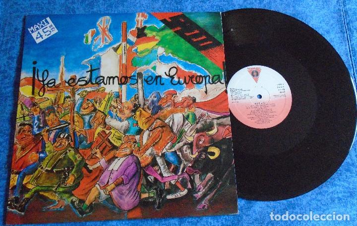"SPEED SPAIN 12"" MAXI MINI LP 1986 PUNK ROCK & ROLL VASCO INSERT ORIGINAL +LETRAS MUY BUEN ESTADO VER (Música - Discos de Vinilo - Maxi Singles - Punk - Hard Core)"