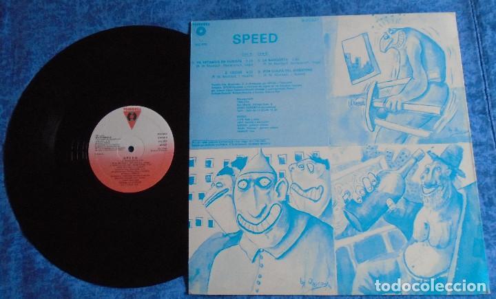 "Discos de vinilo: SPEED SPAIN 12"" MAXI MINI LP 1986 PUNK ROCK & ROLL VASCO INSERT ORIGINAL +LETRAS MUY BUEN ESTADO VER - Foto 3 - 246742765"