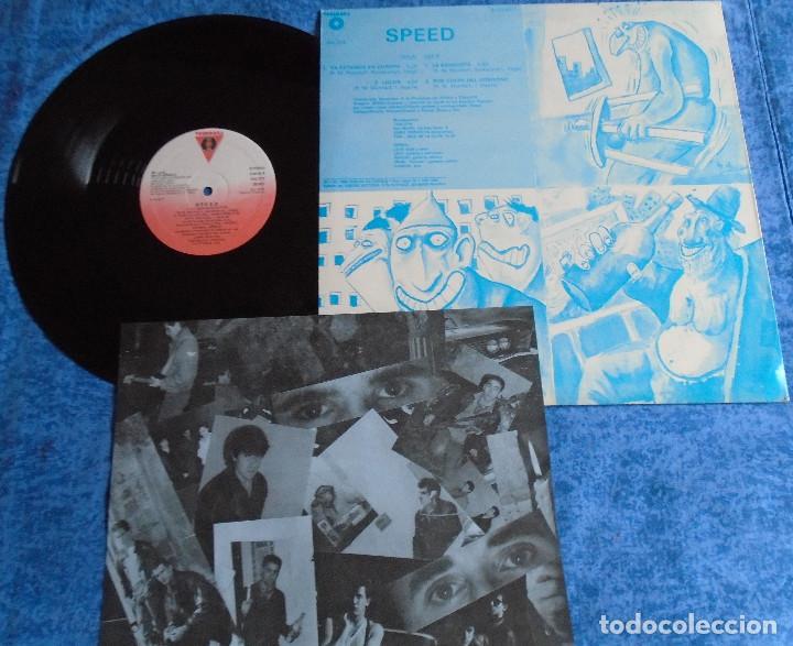 "Discos de vinilo: SPEED SPAIN 12"" MAXI MINI LP 1986 PUNK ROCK & ROLL VASCO INSERT ORIGINAL +LETRAS MUY BUEN ESTADO VER - Foto 4 - 246742765"