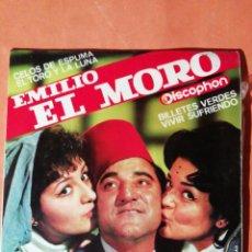 Discos de vinilo: EMILIO EL MORO. CELOS DE ESPUMA. DISCOPHON 1964. Lote 246743210