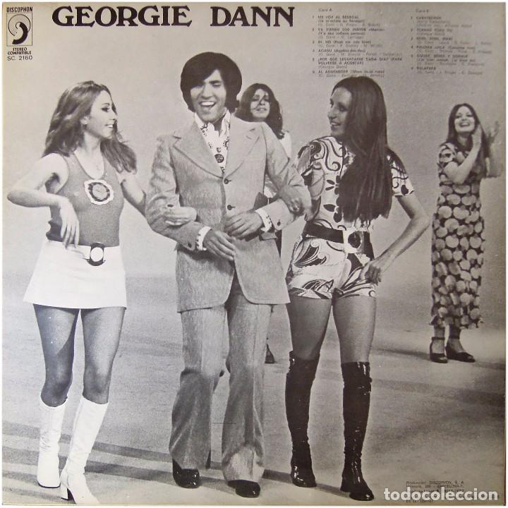 Discos de vinilo: Georgie Dann - El show de Georgie Dann - Lp Spain 1972 - Discophon S.C. 2160 - Foto 2 - 246745100