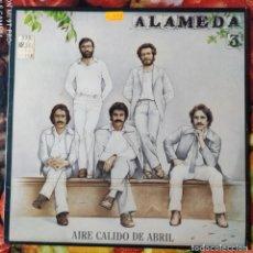 Discos de vinilo: LIQUIDACION LP EN PERFECTO ESTADO_ALAMEDA_AIRE CALIDO DE ABRIL. Lote 246797650