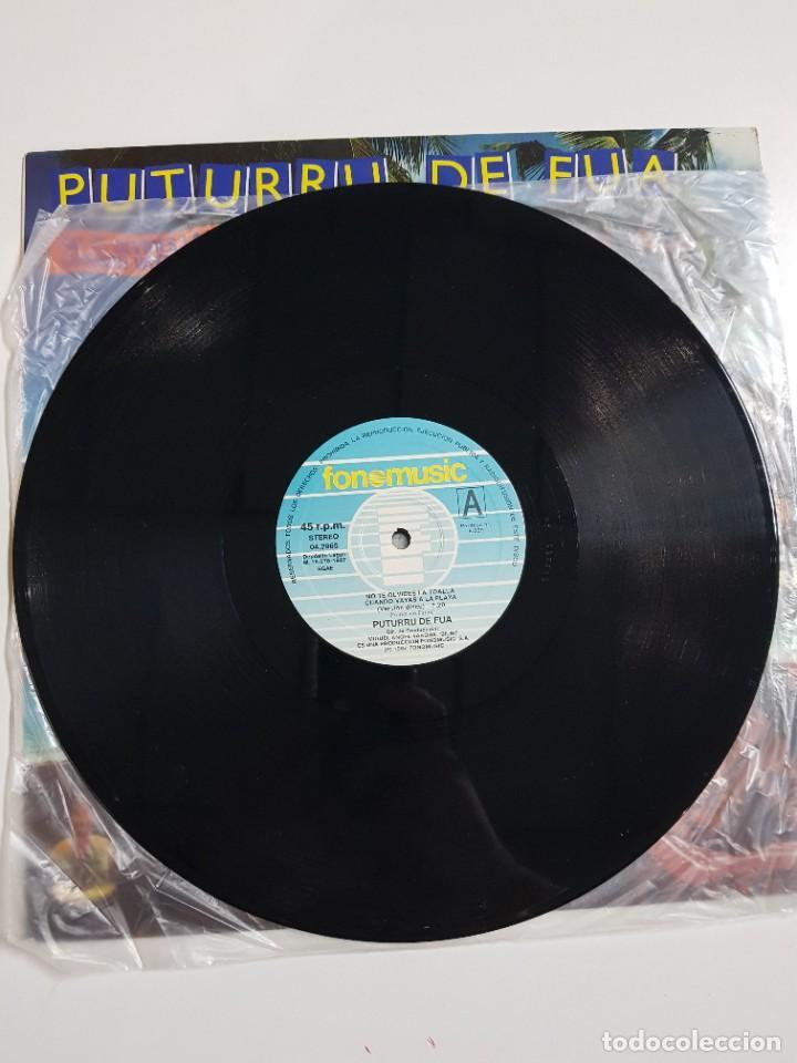 Discos de vinilo: DISCO DE VINILO. PUTURRU DE FUA. NO TE OLVIDES LA TOALLA. VERSION MAXI. 1987 - Foto 6 - 246800805