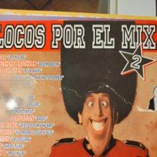 Discos de vinil: DISCO DE VINILO LOCOS POR EL MIX 2. CONTIENE 3 DISCOS. Lote 246801240