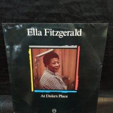 Discos de vinilo: ELLA FITZGERALD. AT DUKE'S PLACE. MAESTROS DEL JAZZ. . VINILOS. Lote 246821460