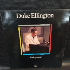 Discos de vinilo: DUKE ELLINGTON. BACKGROUND. MAESTROS DEL JAZZ. . VINILOS. Lote 246822210