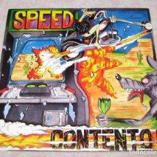 Discos de vinilo: SPEED - CONTENTO - SINGLE LA GENERAL 1989 - EX!. Lote 246823915