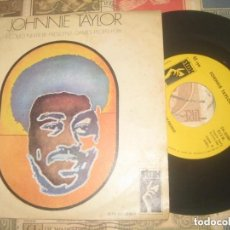 Discos de vinilo: JOHNNIE TAYLOR, I COULD NEVER ( MOVIEPLAY 1969 ) OG ESPAÑA LEA DESCRIPCION. Lote 246839315