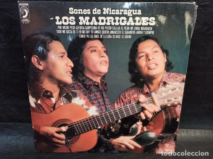 SONES DE NICARAGUA. LOS MADRIGALES. DEDICADO. VINILOS (Música - Discos - LP Vinilo - Étnicas y Músicas del Mundo)