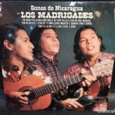 Discos de vinilo: SONES DE NICARAGUA. LOS MADRIGALES. DEDICADO. VINILOS. Lote 246875365