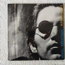 Discos de vinilo: MIKEL ERENTXUN: NAUFRAGIOS - LP. GASA 1992 - DOBLE PORTADA.. Lote 246878280