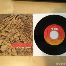 "Discos de vinilo: OSKORRI - AITA-SEMEAK / GOSETEA - SINGLE PROMO RADIO 7"" - 1975 VASCO. Lote 246881590"