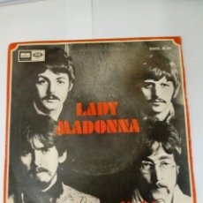 Discos de vinilo: THE BEATLES-LADY MADONNA. Lote 246891880