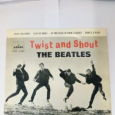 Discos de vinilo: THE BEATLES-TWIST AND SHOUT. Lote 246893430